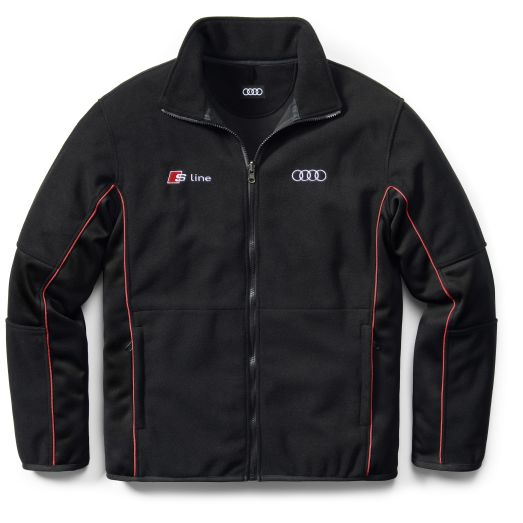 audi fleece jacke s line s m l xl xxl ebay. Black Bedroom Furniture Sets. Home Design Ideas
