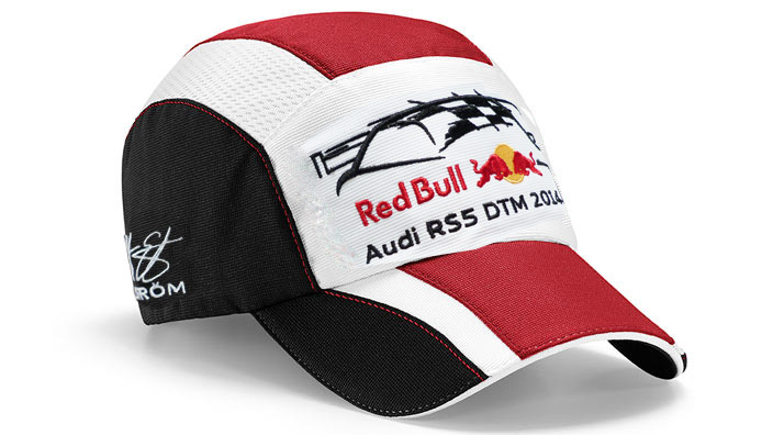 audi red bull baseballcap rs5 dtm 2014 ekstr m m tze kappe. Black Bedroom Furniture Sets. Home Design Ideas