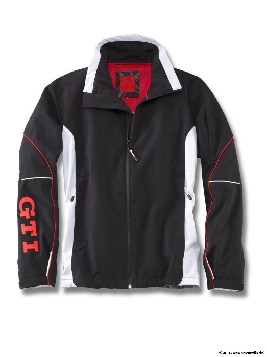 vw herren softshell jacke gti m l xl xxl ebay. Black Bedroom Furniture Sets. Home Design Ideas
