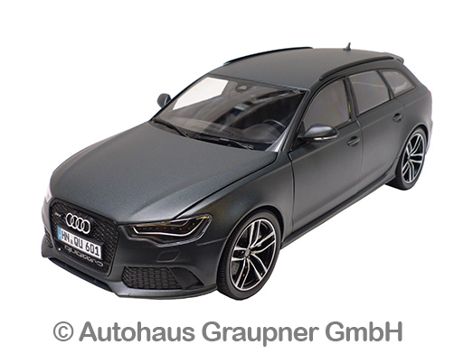 audi rs6 avant 1 18 daytonagrau matt modellauto rs 6 4g. Black Bedroom Furniture Sets. Home Design Ideas