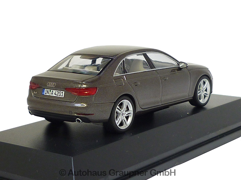 Audi A4 Limousine 1:43 Argusbraun