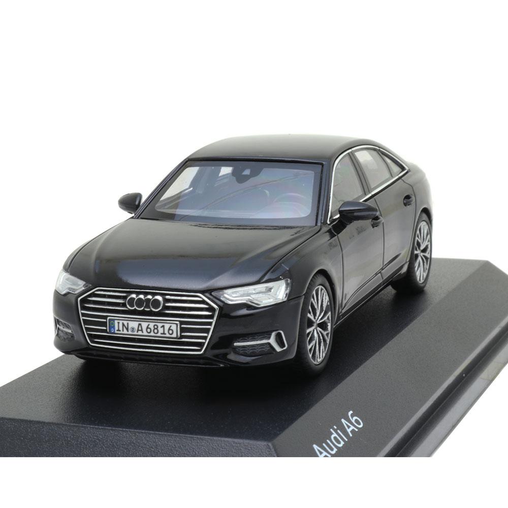 audi a6 c8 limousine mythosschwarz 1 43 modellauto. Black Bedroom Furniture Sets. Home Design Ideas