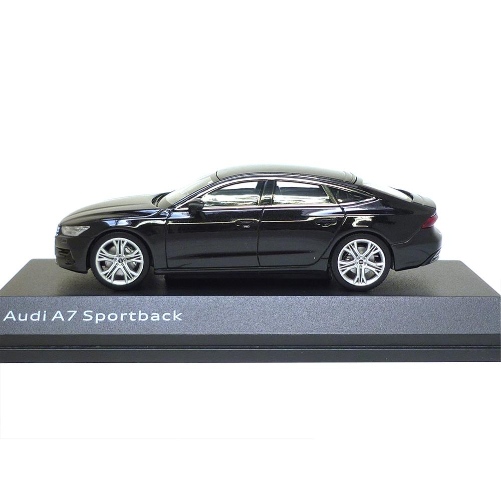 Audi A7 Sportback 1:43 Mythosschwarz 5011707032 Modellauto iScale Miniatur
