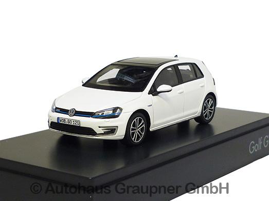 vw golf 7 gte pure white 1 43 modellauto 5g1099300c9a ebay. Black Bedroom Furniture Sets. Home Design Ideas