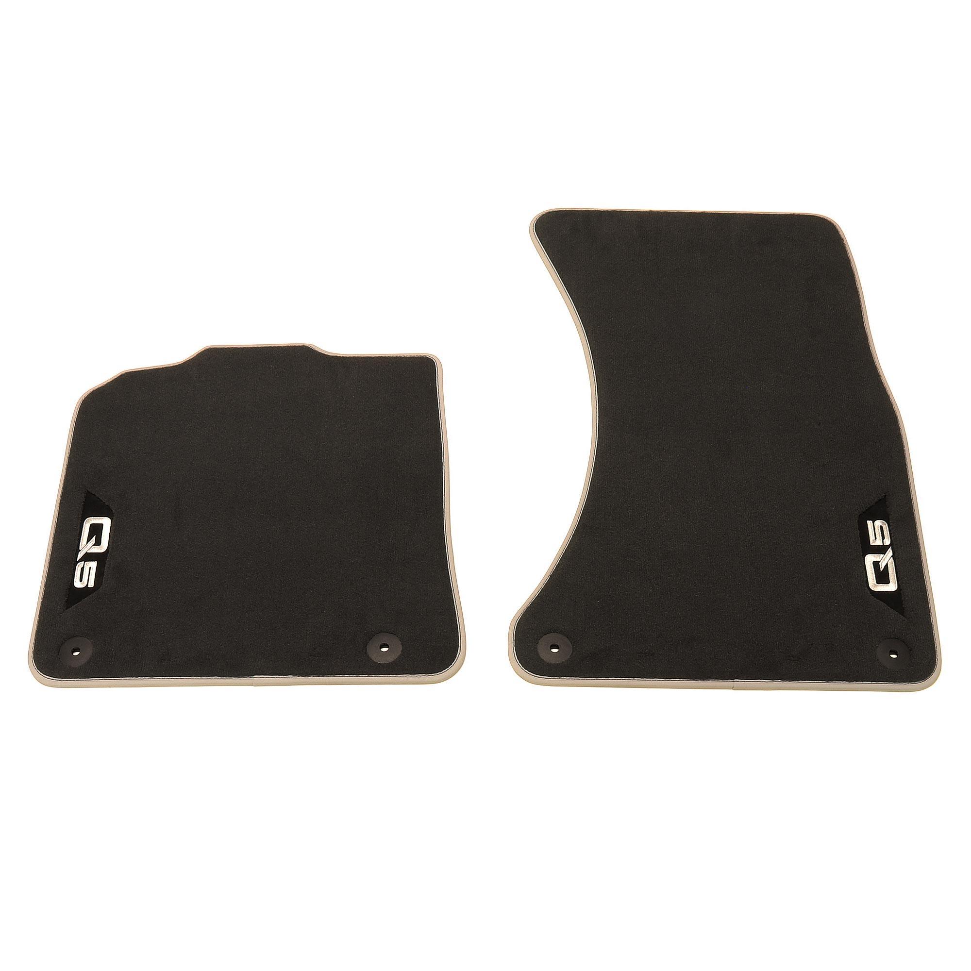 Audi Q5 8R Textilfußmatten Premium 2 tlg 8R1061275 MNO Velours Stoffmatten vorn