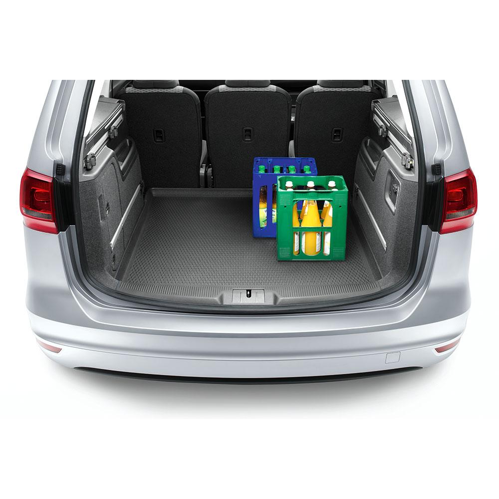ORIGINAL VW Kofferraummatte Gepäckraumeinlage Matte VW Sharan 7N0061160