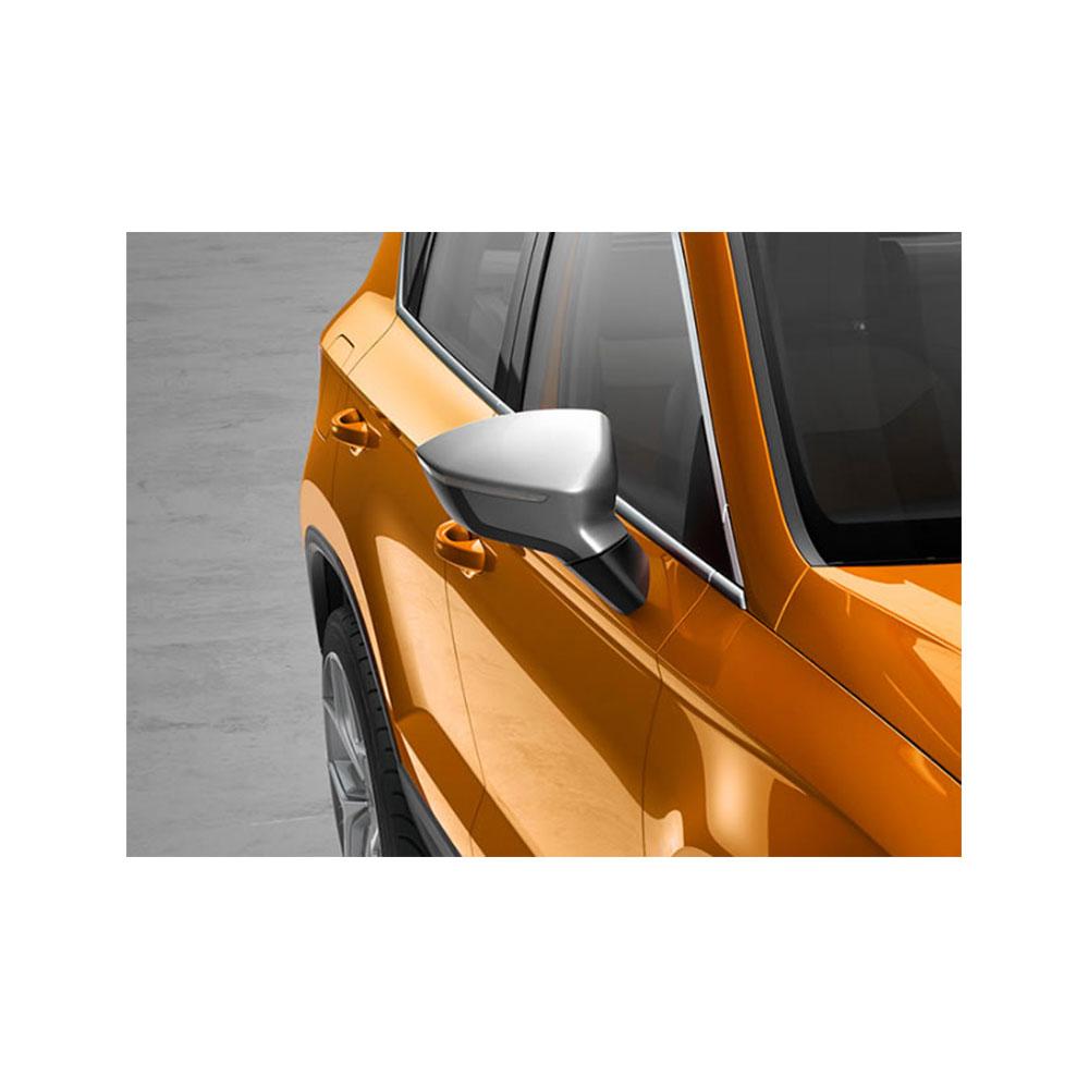 seat ateca crossover spiegelkappen set silber. Black Bedroom Furniture Sets. Home Design Ideas