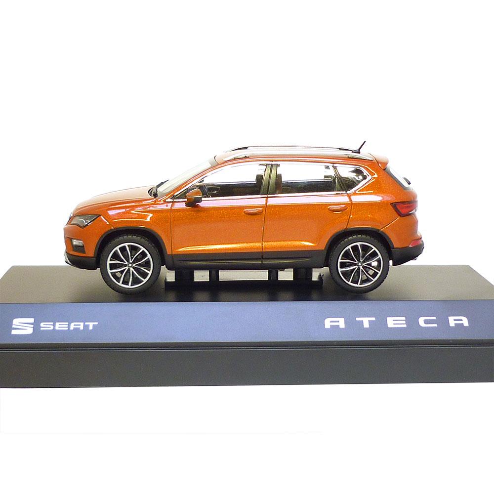 seat ateca 1 43 samoa orange 6h1099300 gao modellauto. Black Bedroom Furniture Sets. Home Design Ideas